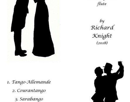 Tango suite for unaccompanied flute