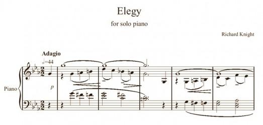 Elegy in C Minor