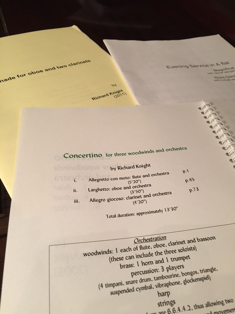 Concertino for Three Winds