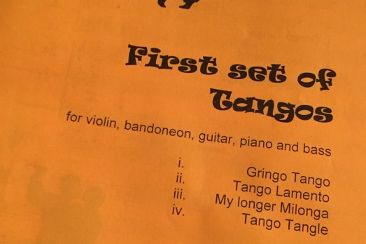 A First Set of Tangos