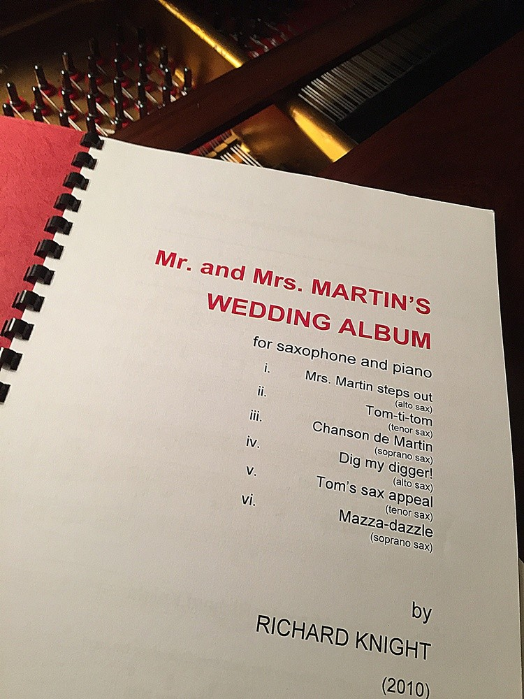 Mr & Mrs Martin's Wedding Album