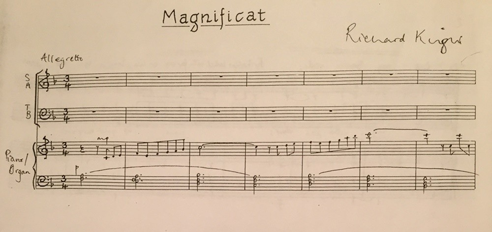 Magnificat and Nunc Dimittis in F Major