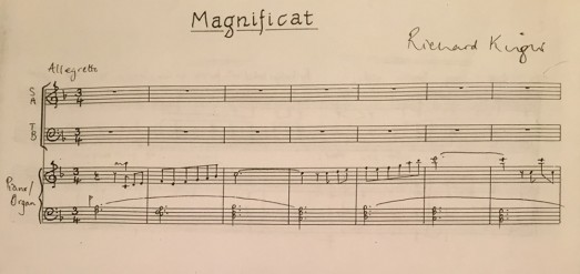 Magnificat and Nunc Dimittis in F Major