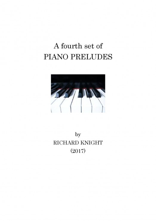 Fourth set of Piano Preludes