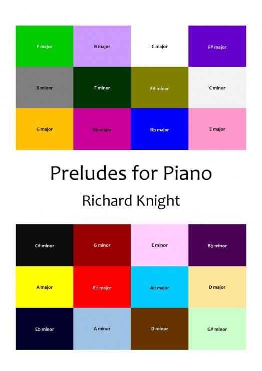 First set of Piano Preludes