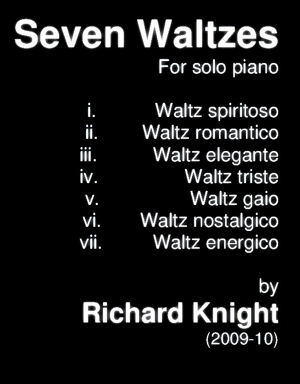 Seven Waltzes for Piano