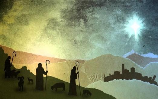 Shepherds in the field abiding